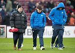 Hearts v St Johnstone…03.02.18…  Tynecastle…  SPFL<br />Paul Smith with Aaron Comrie and Liam Gordon<br />Picture by Graeme Hart. <br />Copyright Perthshire Picture Agency<br />Tel: 01738 623350  Mobile: 07990 594431