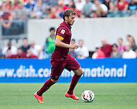 Philadelphia, PA - August 2, 2014: Inter Milan defeated AS Roma 2-0 during the Guinness International Champions Cup at Lincoln Financial Field.