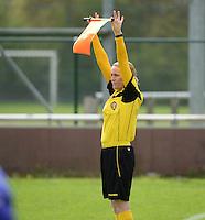 Finale Beker van West-Vlaanderen Vrouwen FC Knokke - SK Opex Girls Oostende :  Heidi Houtthaeve <br /> foto DAVID CATRY | Sportpix.be