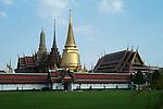 Grand Palace and Wat Phra Kaeo in Bangkok, Thailand