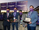 November 7, 2020: Breeders' Award, Longines Classic on Breeders' Cup Championship Saturday at Keeneland Race Course in Lexington, Kentucky on November 7, 2020. Bill Denver/Breeders' Cup/Eclipse Sportswire/CSM