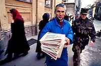 Sarajevo, capitale della Bosnia Erzegovina, nel novembre  1995 a pochi mesi dalla firma del trattato di pace