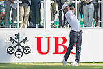 Edoardo Molinari of Italy tees off the first hole during the 58th UBS Hong Kong Golf Open as part of the European Tour on 08 December 2016, at the Hong Kong Golf Club, Fanling, Hong Kong, China. Photo by Marcio Rodrigo Machado / Power Sport Images