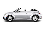 Car Driver side profile view of a 2015 Volkswagen Beetle - 2 Door Convertible 2WD Side View
