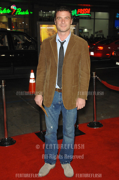 """LIEV SCHRIEBER at the US premiere of """"The Fountain"""" at Grauman's Chinese Theatre, Hollywood..November 11, 2006  Los Angeles, CA.Picture: Paul Smith / Featureflash"""