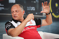 VASSEUR Frederic (fra), Team Principal of Alfa Romeo Racing ORLEN, portrait during the Formula 1 Pirelli British Grand Prix 2021, 10th round of the 2021 FIA Formula One World Championship from July 16 to 18, 2021 on the Silverstone Circuit, in Silverstone, United Kingdom -  <br /> Formula 1 GP Great Britain Silverstone 15/07/2021<br /> Photo DPPI/Panoramic/Insidefoto <br /> ITALY ONLY