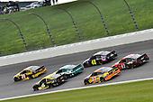 #20: Erik Jones, Joe Gibbs Racing, Toyota Camry DeWalt and #6: Ryan Newman, Roush Fenway Racing, Ford Mustang Performance Plus Motor Oil
