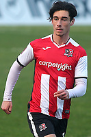 Joel Randall, scorer of two Exeter goals during Gillingham vs Exeter City, Emirates FA Cup Football at the MEMS Priestfield Stadium on 28th November 2020