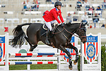 October 17, 2021: Hannah Sue Burnett (USA), aboard Carsonstown, competes during the Stadium Jumping Final at the 3* level during the Maryland Five-Star at the Fair Hill Special Event Zone in Fair Hill, Maryland on October 17, 2021. Jon Durr/Eclipse Sportswire/CSM