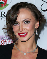 BEVERLY HILLS, CA, USA - SEPTEMBER 13: Karina Smirnoff arrives at the Brent Shapiro Foundation For Alcohol And Drug Awareness' Annual 'Summer Spectacular Under The Stars' 2014 held at a Private Residence on September 13, 2014 in Beverly Hills, California, United States. (Photo by Xavier Collin/Celebrity Monitor)