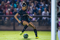 STANFORD, CA - November 21, 2014: Ryan Walker-Harthorn during the Stanford vs Arkansas women's second round NCAA soccer match in Stanford, California.  The Cardinal defeated the Razorbacks 1-0.