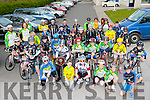 Young cyclists from all over Kerry at the Youth Cycling County initiative cycle in Killorglin on Thursday