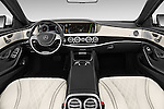 Stock photo of straight dashboard view of 2017 Mercedes Benz S-Class Maybach 4 Door Sedan Dashboard