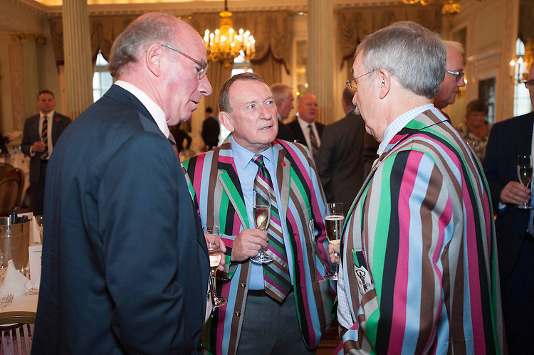 Former players, supporters and guests celebrate Harlequins' 150th Anniversary at the RAC Club in Pall Mall, London on Friday 4th November 2016.