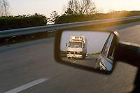 - truck on the Adriatic freeway ....- autocarro sull'autostrada Adriatica