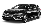 2016 Renault Talisman Initiale-Paris 5 Door Wagon Angular Front stock photos of front three quarter view
