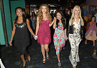 Bratz-Canadian Premier-Movie openings in Canada Aug 3/07; Silver City - Yonge Eglinton location of premier, Stars of the movie Logan Browning, Nathalia Ramos, Janel Parrish, Skyler Shaye (CNW Group/Alliance Atlantis)