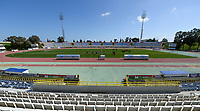 20180228 - LARNACA , CYPRUS :  illustration picture of the stadium before a women's soccer game between The Belgian Red Flames and the Czech Republic , on wednesday 28 February 2018 at GSZ Stadium in Larnaca , Cyprus . This is the first game in group B for Belgium during the Cyprus Womens Cup , a prestigious women soccer tournament as a preparation on the World Cup 2019 qualification duels. PHOTO SPORTPIX.BE   DAVID CATRY
