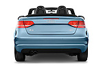 Straight rear view of a 2003 - 2012 Audi A3 Attraction 2-Door Convertible.