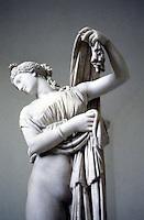Greek Art:  Callipygian Venus, front.  National Museum.  Photo '83.