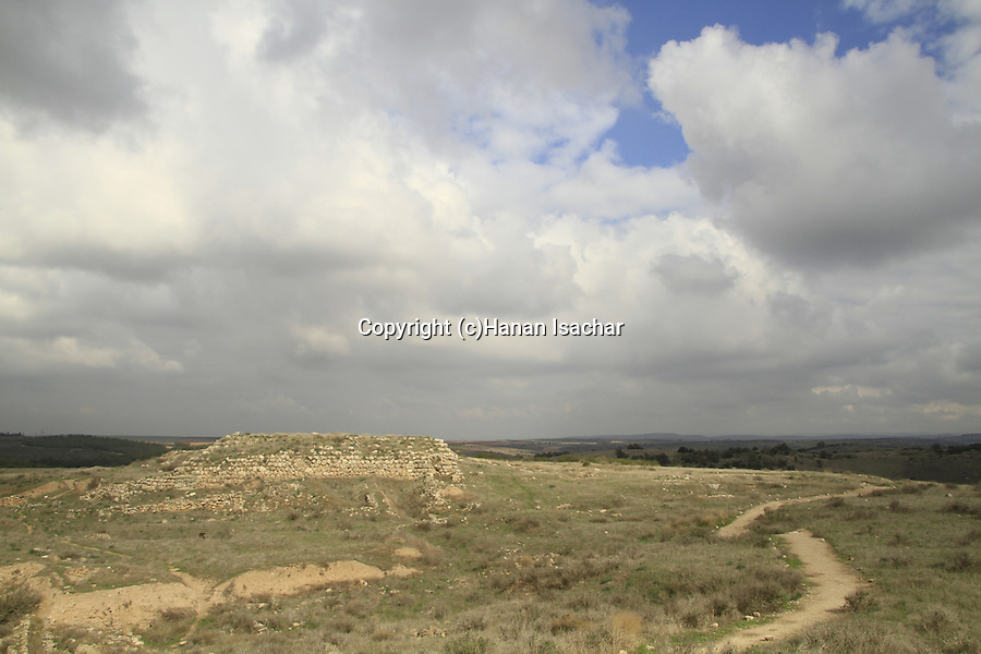 Israel, Shephelah,Tel Lachish, the site of the biblical Lachish