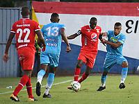MONTERIA - COLOMBIA, 29-08-2021: Jaguares de Córdoba F.C. y América de Cali en partido por los octavos de final vuelta como parte de la Copa BetPlay DIMAYOR 2021 jugado en el estadio Jaraguay de la ciudad de Montería. / Jaguares de Cordoba F.C. and America de Cali in match for the round of 16 round, second leg, as part of the BetPlay DIMAYOR Cup 2021 played at Jaraguay stadium in Monteria city. Photo: VizzorImage / Andres Felipe Lopez / Cont