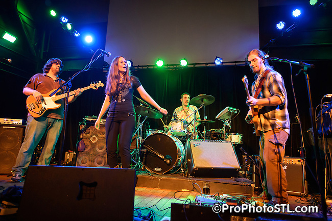 Stone Sugar Shakedown in concert at Old Rock House in St. Louis, MO on Dec 2, 2012.