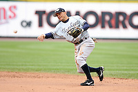 June 1st 2008:  Second baseman Bernie Castro (51) of the Scranton Wilkes-Barre Yankees, Class-AAA affiliate of the New York Yankees, during a game at Frontier Field in Rochester, NY.  Photo By Mike Janes/Four Seam Images