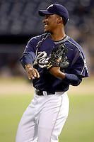 Keyvius Sampson - AZL Padres (2009 Arizona League)..Photo by:  Bill Mitchell/Four Seam Images..