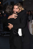 """Cillian Murphy and Sharlto Copley<br /> at the London Film Festival 2016 premiere of """"Free Fire at the Odeon Leicester Square, London.<br /> <br /> <br /> ©Ash Knotek  D3182  16/10/2016"""