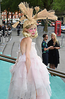 Petite Meller<br /> arrives for the V&A Summer Party 2016, South Kensington, London.<br /> <br /> <br /> ©Ash Knotek  D3135  22/06/2016