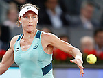 Samantha Stosur, Australia, during Madrid Open Tennis 2016 match.May, 4, 2016.(ALTERPHOTOS/Acero)