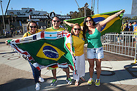 Actio photo during the match Brasil vs Ecuador, at Rose Bowl Stadium Copa America Centenario 2016. ---Foto  de accion durante el partido Brasil vs Ecuador, En el Estadio Rose Bowl, Partido Correspondiante al Grupo -B-  de la Copa America Centenario USA 2016, en la foto: FANS<br /> <br /> --- 04/06/2016/MEXSPORT/ German Alegria.