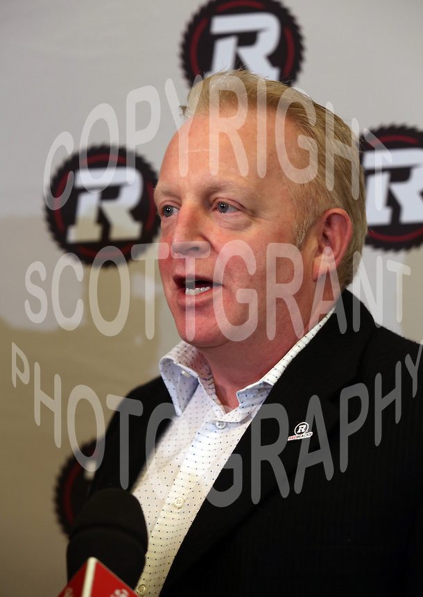 Jeff Hunt President Ottawa RedBlacks 2013. Photo Scott Grant
