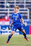 Ulsan Hyundai Forward Lee Jongho in action during the AFC Champions League 2017 Group E match between  Ulsan Hyundai FC (KOR) vs Muangthong United (THA) at the Ulsan Munsu Football Stadium on 14 March 2017 in Ulsan, South Korea. Photo by Chung Yan Man / Power Sport Images