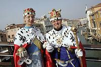 Carnevale di Venezia.<br /> Carnival in Venice.<br /> UPDATE IMAGES PRESS/Riccardo De Luca
