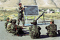 Irak 2002.Entrainement militaire à Diana.Iraq 2002.Military training in Diana