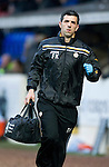 St Johnstone v Hibernian...26.11.11   SPL .St Johnstone physio Frank Kenny.Picture by Graeme Hart..Copyright Perthshire Picture Agency.Tel: 01738 623350  Mobile: 07990 594431