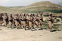 Irak 1963.Entrainement de peshmergas pres de Haj Omran.Iraq 1963.Training of peshmergas near Haj Omran
