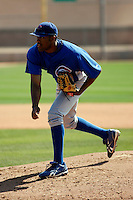 Jay Jackson - Chicago Cubs - 2009 spring training.Photo by:  Bill Mitchell/Four Seam Images