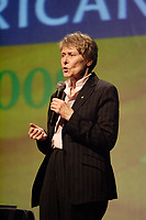 Montreal (QC) CANADA, March 16 to 19 2009 -<br /> Roberta Bondar, First Female Canadian Astronaut in space, speak at Americana Closing Mar 19 2009.