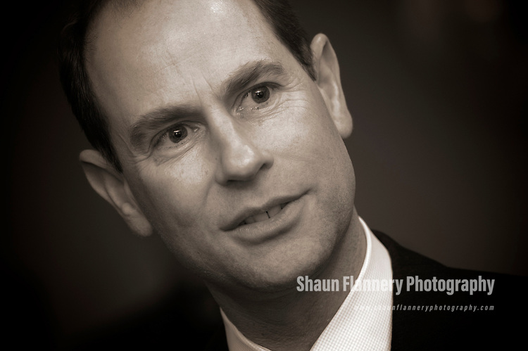 Pix: Shaun Flannery/sf-pictures.com..COPYRIGHT PICTURE>>SHAUN FLANNERY>01302-570814>>07778315553>>..23rd January 2009...........HRH The Earl of Wessex, visit to Rotherham.