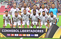 IBAGUE -COLOMBIA, 05-03-2019: Jugadores del Paranaense posan para una foto previo al partido por la fecha 1, grupo G, de la Copa CONMEBOL Libertadores 2019 entre Deportes Tolima de Colombia y Athletico Paranaense de Brasil jugado en el estadio Manuel Murillo Toro de la ciudad de Ibagué. / Players of Paranaense pose to a photo prior match for the date 1, grupo G, as part of Copa CONMEBOL Libertadores 2019 between Deportes Tolima and Athletico Paranaense of Brazil played at Manuel Murillo Toro stadium in Ibague. Photo: VizzorImage / Juan Carlos Escobar / Cont