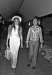 LOREDANA BERTE' CON CARLO GIOVANELLI<br /> FESTA PER I 30 ANNI DI HELMUT BERGER JACKIE O' ROMA 1974