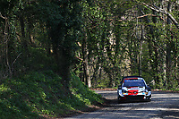 23rd April 2021; Zagreb, Croatia; WRC Rally of Croatia, stages 1-8;
