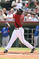 March 16th 2008:  Michael Bourn of the Houston Astros during a Spring Training game at Osceola County Stadium in Kissimmee, FL.  Photo by:  Mike Janes/Four Seam Images