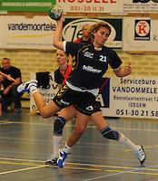 DHT Middelkerke - Izegem : Lien Van Eessen.foto VDB / BART VANDENBROUCKE
