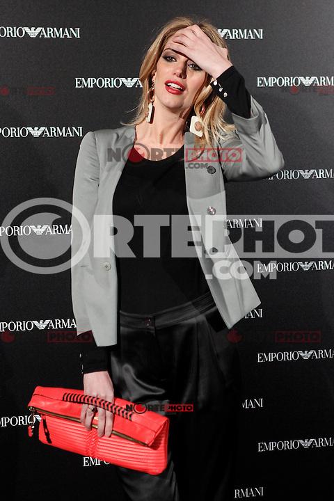 Teresa Baca Astolfi attends the Emporio Armani Boutique opening at Serrano street in Madrid, Spain. April 08, 2013. (ALTERPHOTOS/Caro Marin) /NortePhoto
