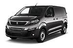 2020 Peugeot e-Expert FT-Premium 5 Door Cargo Van Angular Front automotive stock photos of front three quarter view