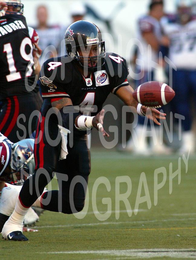 Kerry Joseph Ottawa Renegades 2003. Photo Scott Grant